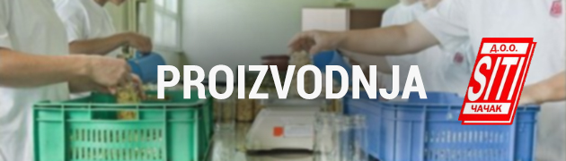 Proizvodi - Siti DOO Čačak
